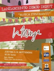 La Minga @ Sala Máster   Providencia   Región Metropolitana   Chile