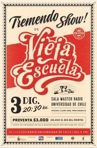 VIEJA ESCUELA @ Sala Master | Providencia | Región Metropolitana | Chile