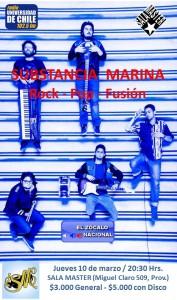 SUBSTANCIA MARINA @ Sala Master   Providencia   Región Metropolitana   Chile