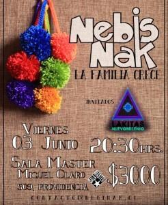 NEBIS NAK @ Sala Master   Providencia   Región Metropolitana   Chile