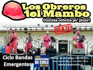 CICLO BANDAS EMERGENTES, CONSEJO NACIONAL DE LA CULTURA Y LAS ARTES @ Sala Master   Providencia   Región Metropolitana   Chile