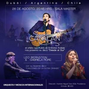 SERGIO CATALAN @ Sala Master | Providencia | Región Metropolitana | Chile