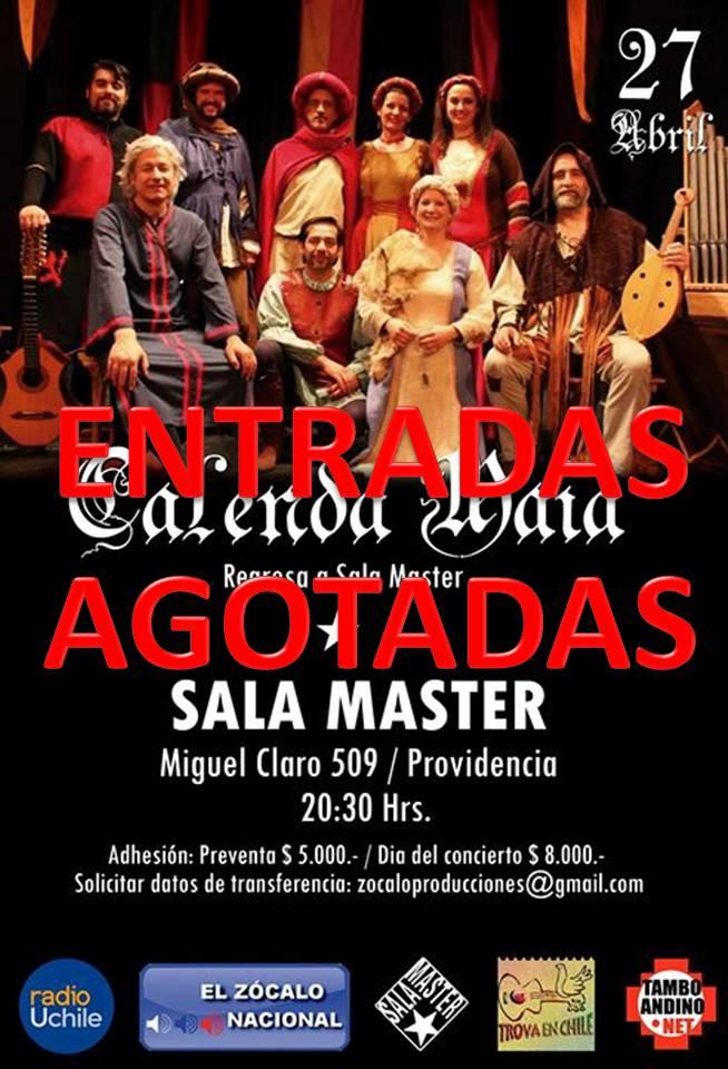 CALENDA-AGOTADAS