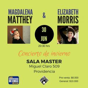 ELIZABETH MORRIS & MAGDALENA MATTHEY