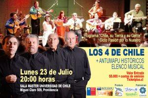 LOS CUATRO DE CHILE / ANTUMAPU HISTÓRICO