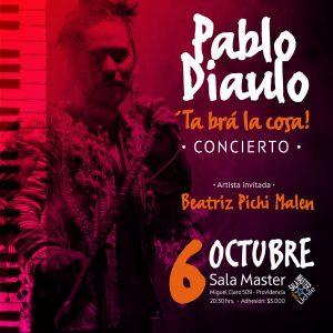 """Pablo Diaulo Presenta su álbum debut """"Tá brá la cosa"""""""