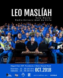 LEO MASLÍAH… CELEBRA SUS 40 AÑOS EN CHILE