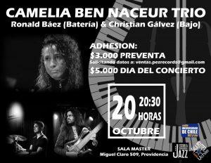 CAMELIA BEN NACEUR TRIO