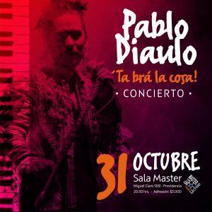 """PABLO DIAULO PRESENTA SU ALBUM DEBUT """"TA BRA LA COSA"""""""