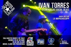 Iván Torres & Zapatillas Social Blues + La Mapochossippi.