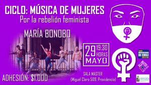 Ciclo música de mujeres: María Bonobó