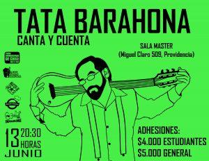 TATA BARAHONA, CANTA Y CUENTA