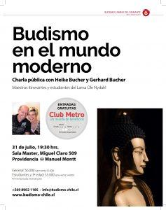 CHARLA DE MEDITACIÓN BUDISTA
