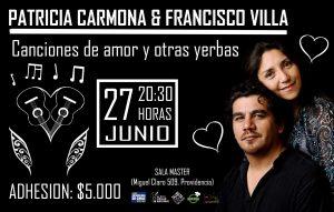 PATRICIA CARMONA & FRANCISCO VILLA