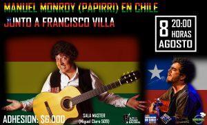"""MANUEL MONROY CHAZARRETA """"EL PAPIRRI"""" EN CHILE JUNTO A FRANCISCO VILLA"""