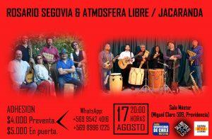 CHARO SEGOVIA & ATMOSFERA LIBRE + JACARANDA