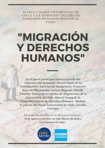 Foro: Migración y Derechos Humanos