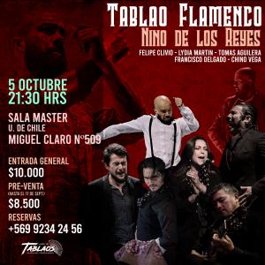 NINO DE LOS REYES EN CHILE - FLAMENCO