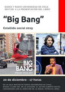 Lanzamiento del libro Big Bang de Alberto Mayol