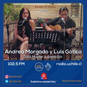 Luis Gatica y Andrea Morgado